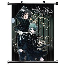 1 X Black Butler Anime Fabric Wall Scroll Poster  Inches