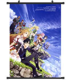 4459 Sword Art Online Anime Home Decor Poster Wall Scroll
