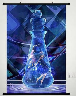 No Game No Life Japanese Anime Wall Scroll Poster Cosplay 23