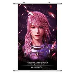 A Wide Variety of FF13 Final Fantasy Game Characters Wall Sc