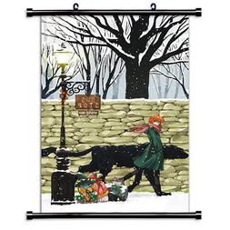 The Ancient Magus Bride  Anime Fabric Wall Scroll Poster  In