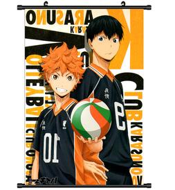 Anime Haikyuu Wall Scroll Home Decor Poster Cosplay 2683