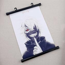 Anime Tokyo Ghoul Poster Cartoon Wall Scroll Fan's Art Print