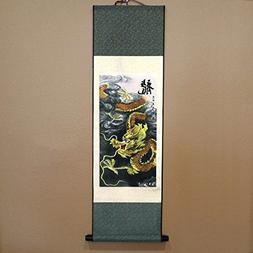 SweetHome Asian Silk Scroll & Picture Scroll & Wall Scroll C