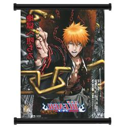 Bleach Ichigo Anime Fabric Wall Scroll Poster  Inches
