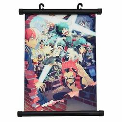 Boku No Hero Academia Poster Wall Hanging Scroll Anime Cospl