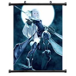 Bravely Default Game Fabric Wall Scroll Poster  Inches