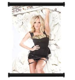 Carrie Underwood Country Pop Star Fabric Wall Scroll Poster