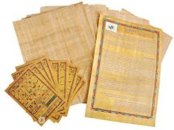 Egyptian Papyrus blank paper set of 20 Sheets for Art Projec