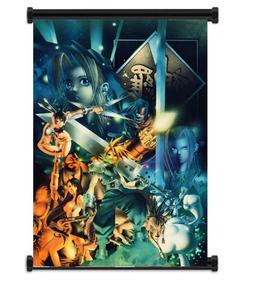 Final Fantasy VII 7 Game Fabric Wall Scroll Poster  Inches