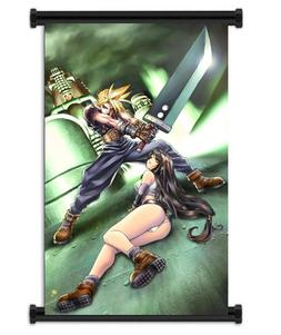 Wall Scrolls Final Fantasy VII Game Fabric Poster  Inches