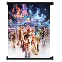 Final Fantasy XIII 13 Game Fabric Wall Scroll Poster  Inches