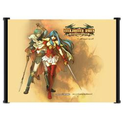 Fire Emblem Sacred Stones Game Fabric Wall Scroll Poster  In
