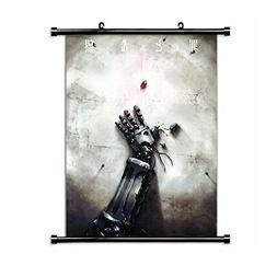 "Fullmetal Alchemist Anime Fabric Wall Scroll Poster 16"" x 22"