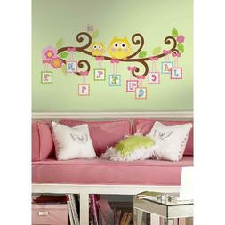 Happi Scroll Tree Letter Branch Peel &Amp; Stick Giant Wall