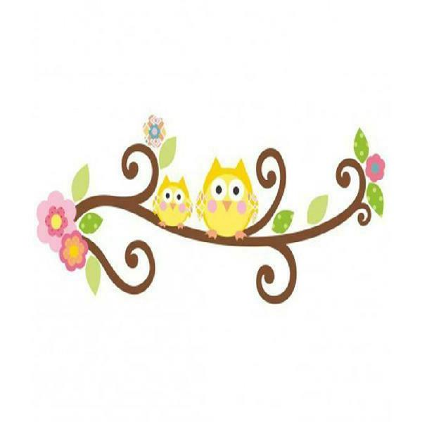 Happi Scroll Tree Branch &Amp; Giant Wall