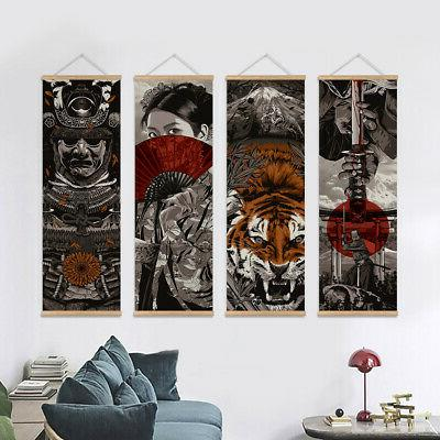 Japanese Wall Art Picture Scroll