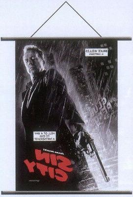 Sin City Bruce Willis Hartigan Cloth Wall Scroll Poster 3325