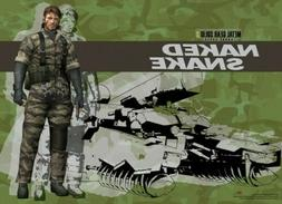 Metal Gear Solid 3 Naked Snake and Shagohod Wall Scroll  GE