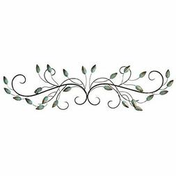 Metal Scroll Leaf Hanging Interior Wall Art Home Decor