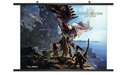 CWS Media Group Monster Hunter World 02 Wall Scroll Poster