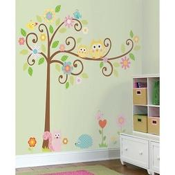 NEW* Scroll Tree Wall Mega 163cm Mural Removable wall decals