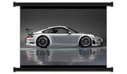 Porsche 911 Fabric Wall Scroll Poster  Inches