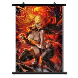 rwby yang xiao long Anime Wall Art Home Decoration Scroll Po