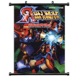 Super Robot Wars Anime Fabric Wall Scroll Poster  Inches-Sup