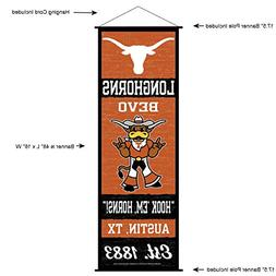 Texas Longhorns Banner and Scroll Sign