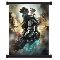 Tom Clancy's Ghost Recon Future Soldier Video Game Fabric Wa