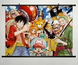 Wall Scroll Poster Fabric Painting For Anime One Piece Key R